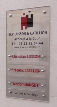 SCP Lusson Catillion - Avocat à Amiens