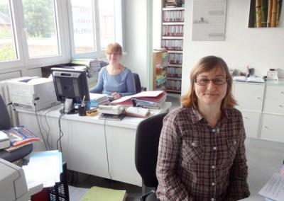 Les secrétaires de Me Lusson, Catillion et Mangot